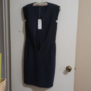 Rebecca Taylor color block dress